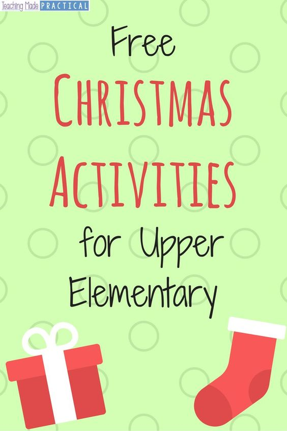 free christmas activity printables for your students in upper elementary fourthgradefriends. Black Bedroom Furniture Sets. Home Design Ideas