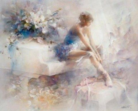 DOUCEUR aquarelliste Willem Hayenraets