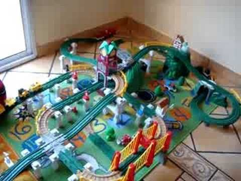 fisher price christmas train instructions