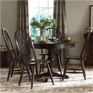 Darkwood Dining set