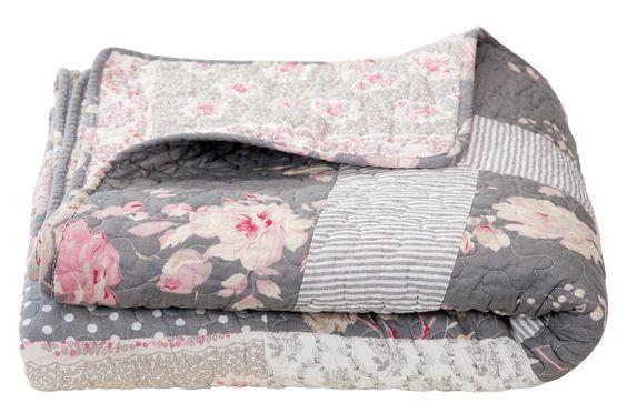sprei laudy voor een romantische look in je slaapkamer. Black Bedroom Furniture Sets. Home Design Ideas