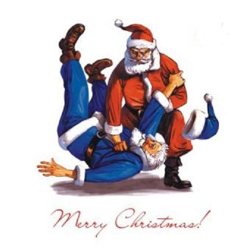 Bilderesultat for santa Claus judo