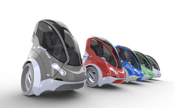 Ultra-Compact Car Share   Yanko Design
