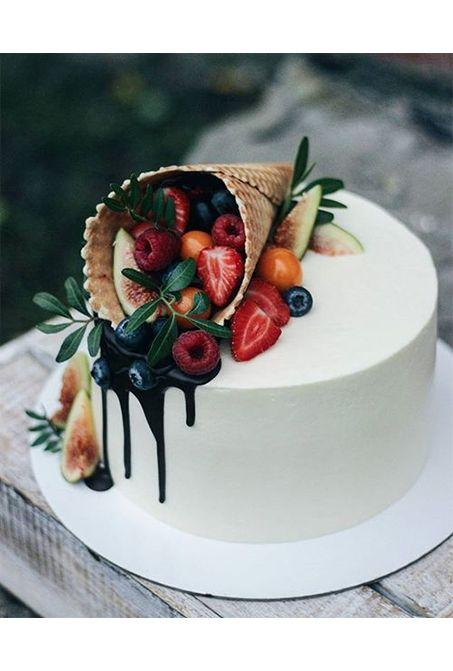 美味しそうなスイーツ フルーツケーキ