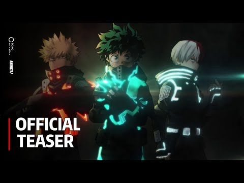 My Hero Academia The Movie 3 World Heroes Mission Official Teaser Youtube In 2021 Hero World My Hero Academia Episodes My Hero Academia