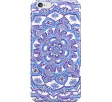 Lilac Spring Doodle Flower iPhone 4 Case