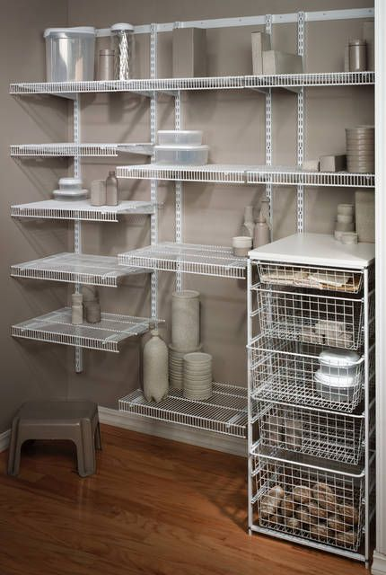 kitchen cabinet wire shelving organize your pantry with harkraft s selection of 5867
