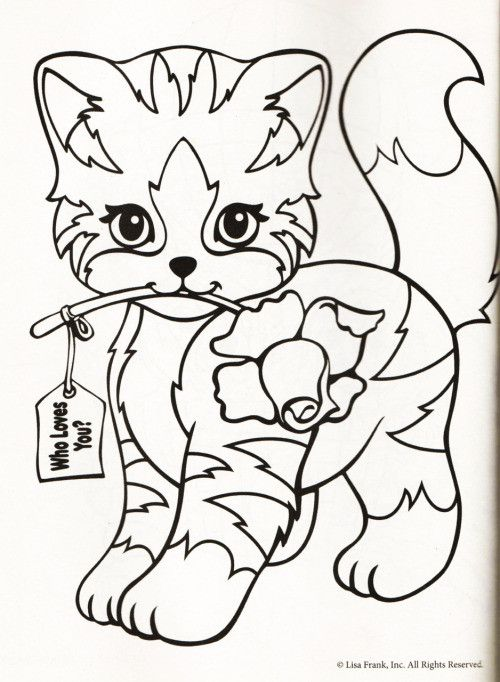 Pin By Jenny Lessard On Lisa Frank Coloring Pages Valentine Coloring Pages Animal Coloring Pages Cute Coloring Pages