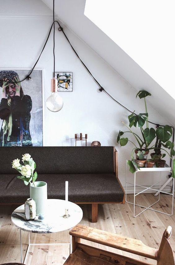 La petite fabrique de rêves: Danish studio : un studio d'étudiante très chic !