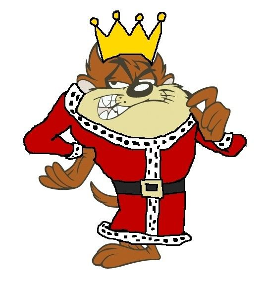 King tasmanian devil looney tunes fan art tasmanian - Tasmanian devil cartoon images ...