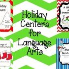 This bundled set of four center activities is a must-have on your list! Included in this bundled set: A Sleigh of Sentences, Holiday Nouns, Merry M...