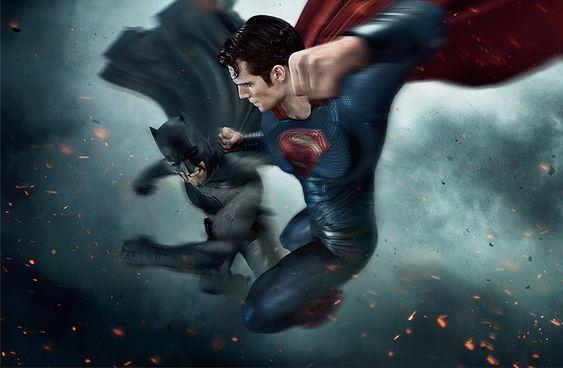 Cavaleiro das Trevas enfrenta o Homem de Aço na nova arte de 'Batman vs Superman' - Nerd Duty