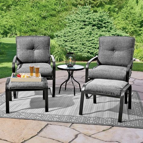 Northcrest Grant Park 5 Piece Seating Group Shopko Outdoor Furniture Sets Seating Groups Furniture