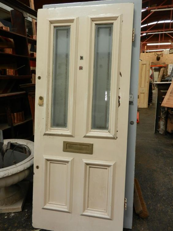 Victorian front door for sale on SalvoWEB from Smiths Architectural Salvage in Surrey [Salvo code | Doors - Reclaimed u0026 Antique For Sale | Pinterest ... & Victorian front door for sale on SalvoWEB from Smiths ... pezcame.com