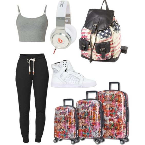 A fashion look from December 2014 featuring Lija activewear pants and Supra sneakers. Browse and shop related looks.