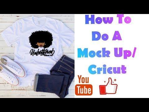 Download Mock Up Tutorial Cricut Design Space Shirt Mock Up Youtube Mocking Space Shirts Cricut Design