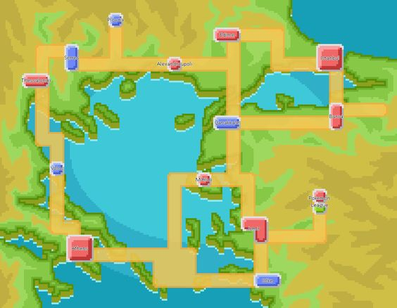 Compare the Map from Sun Moon with the Map from Ultra Sun Ultra Moon - new osrs world map in game