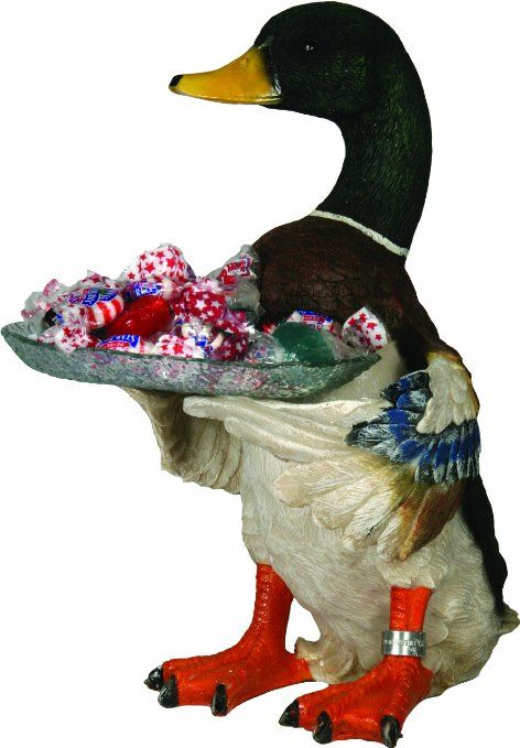 Amazon.com: River's Edge 939 Adorable Animal Candy and Nut Dishes (Mallard Duck): Sports & Outdoors