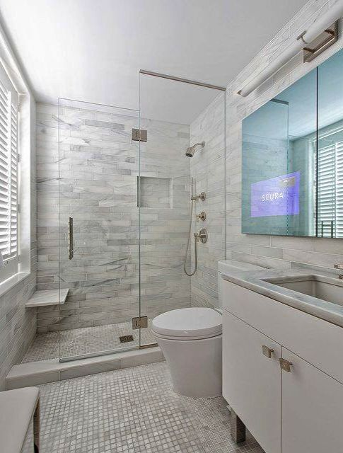 Cool Small Bathrooms With Bath And Shower Cubicle Valuable