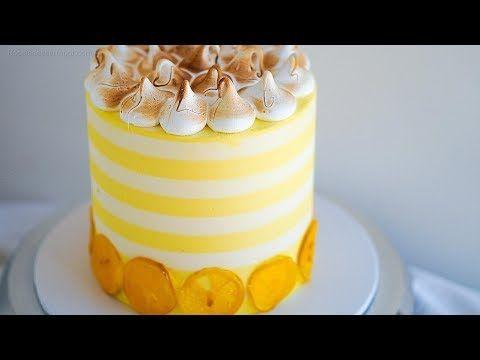 Lemon Cake Decorating Design Rosie S Dessert Spot Youtube Cake Decorating Designs Learn Cake Decorating Lemon Curd Cake