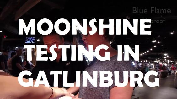 What a great day we had in Gatlinburg, and who can go to the mountains without getting some good 'ole Tennessee Moonshine? Of course, we needed to taste them...