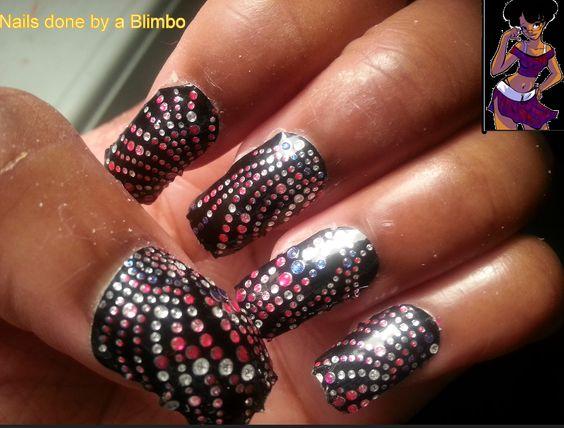 Nail art design strips   Nails done by a Blimbo   Avon Nail Art   Pinterest    Stripped nails and Avon - Nail Art Design Strips Nails Done By A Blimbo Avon Nail Art