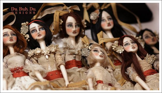 Doll Ornaments~Image © Christine Alvarado, 2011. #ornaments