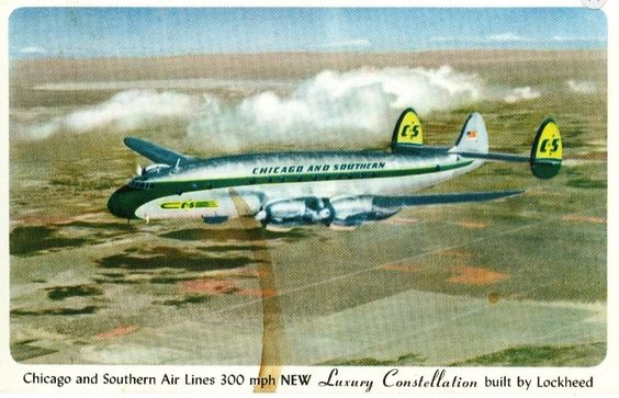 Chicago and Southern super Connie