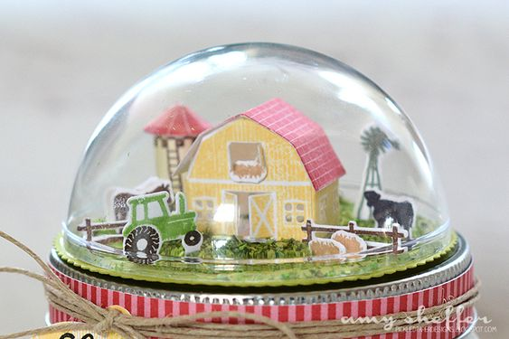 Pickled Paper Designs: Introducing Petite Places: Barnyard