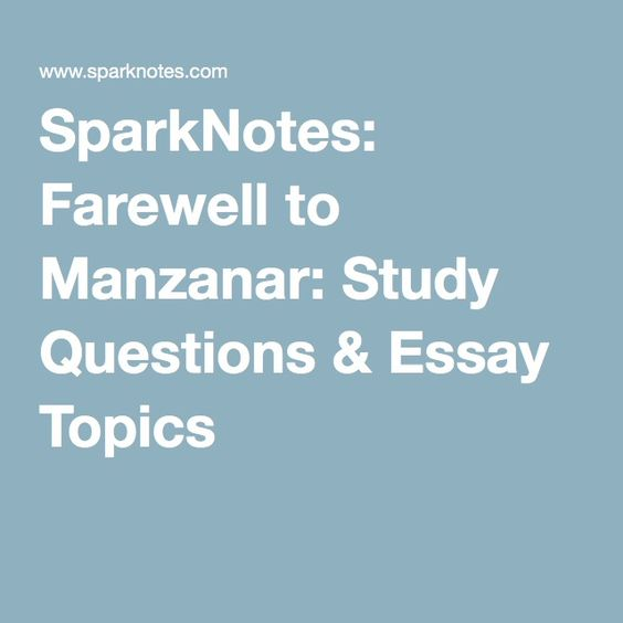 Farewell to manzanar summary essay