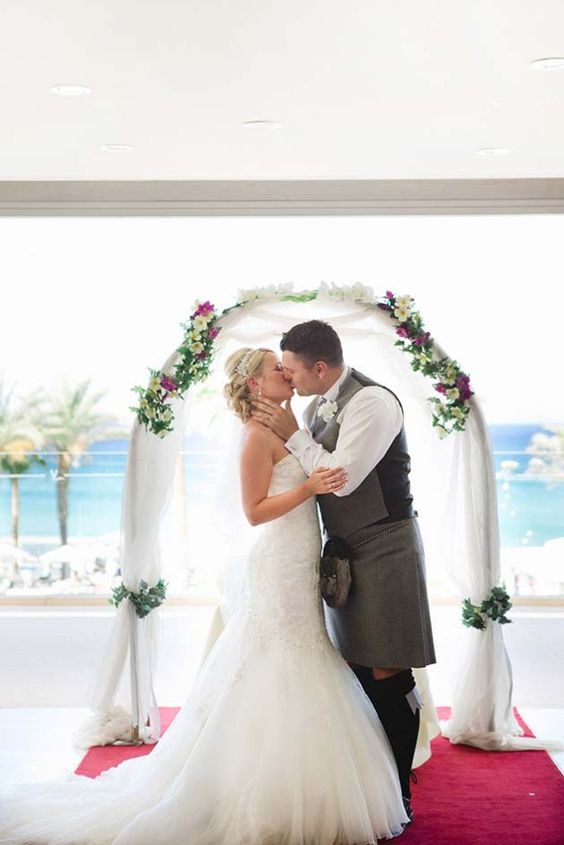 A beautifully intimate Cypriot wedding in Protaras, Cyprus.  Image by Chantal Lachance-Gibson Photography.