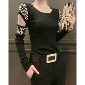 Long Sleeve T-shirts   Cheap Sexy Long Sleeve T-shirts For Women Casual Style Online Sale   DressLily.com