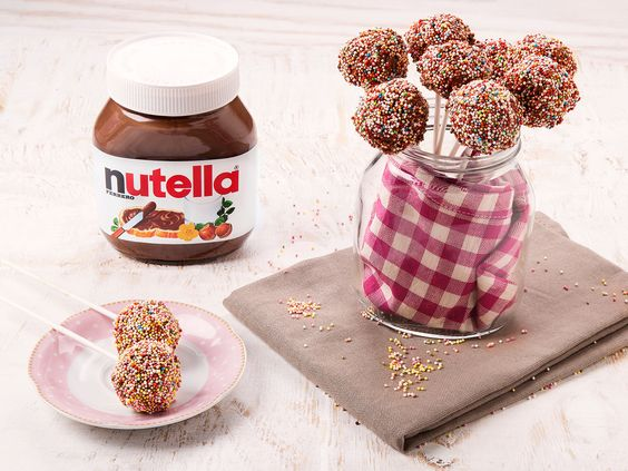 nutella-Cake Pops