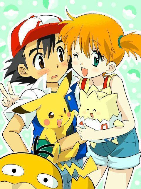 Opinando Sobre Ships De Pokemon Pokeshipping Pokemon Pokemon