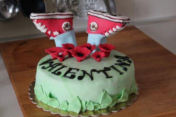 Torta Converse