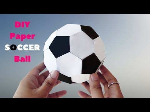 Paper Soccer Ball Mini – How to Make Paper Soccer Ball – DIY Mini ... | 360x480