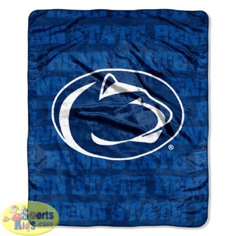Northwest NCAA Penn State Grunge Series Micro Raschel Blanket