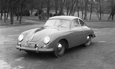 Porsche 356 Coupe - Factory Photo - 1953