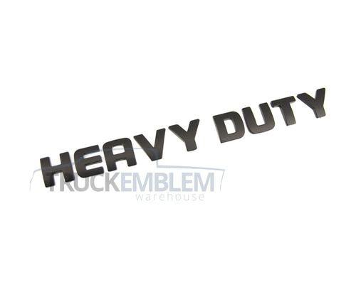 1 New Custom Matte Black 05 07 Dodge Ram 2500 3500 Heavy Duty Tailgate Emblem Dodge Ram 2500 Dodge Ram Ram 2500
