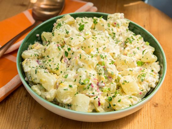 United States of Potato Salad recipe from Jeff Mauro via Food Network