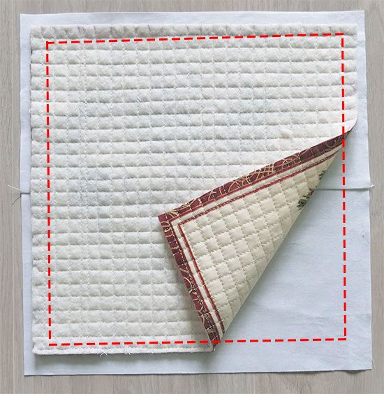 No Binding Quilted Placemats Place Mats Quilted Quilting Studio Placemats