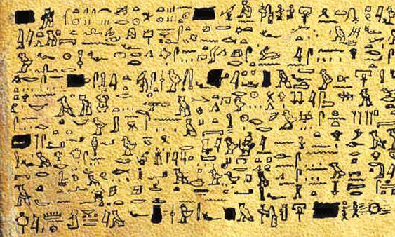 Tulli Papyrus: een oud document dat vliegende 'vurige schijven' onthult, beschreven door een farao