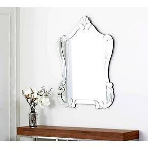 Abbyson Rome Mirror - Light Silver : Target