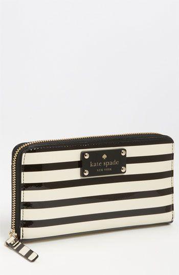 kate spade new york 'flicker - lacey' zip around wallet | Nordstrom