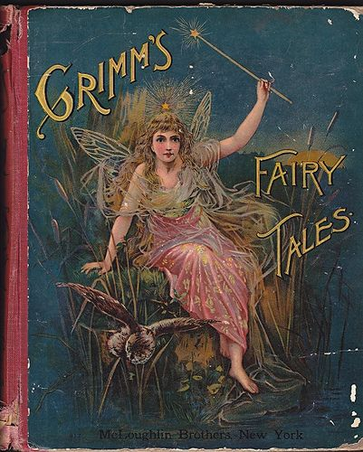 Antique children's book-my parents used to read me these stories at bedtime-no wonder I have so many issues.:
