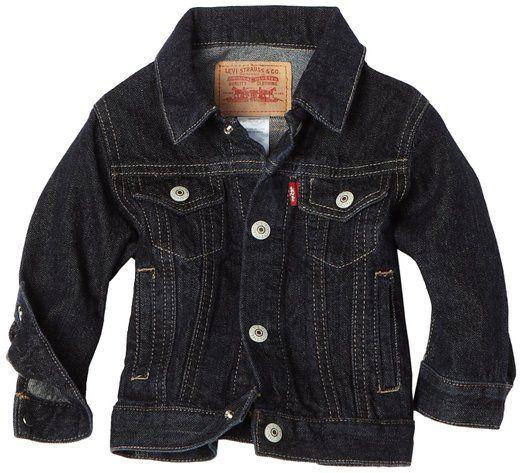 ef2e95d68a65 Levi s Baby-boys Infant 7747 Denim Jacket