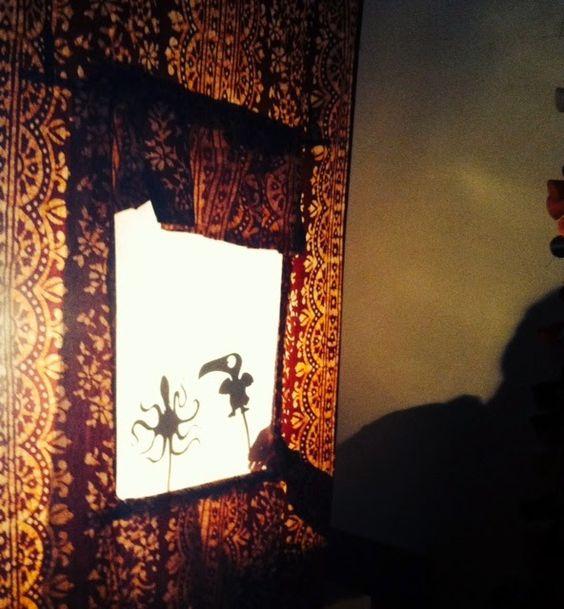 Tutoriel : théâtre d'ombres chinoises #cadeau #enfant #recup