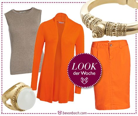 #Orange #Outfit by Brigitte von Boch #bevonboch