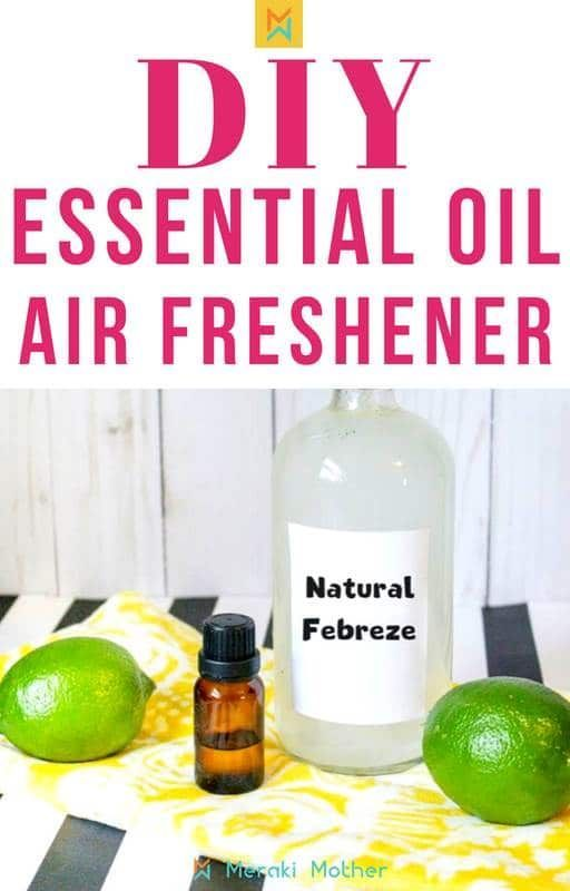 How To Make An All Natural Air Freshener For Your Home 3 Ingredients Diy Air Freshener Spray Air Freshener Diy Essential Oils Natural Air Freshener