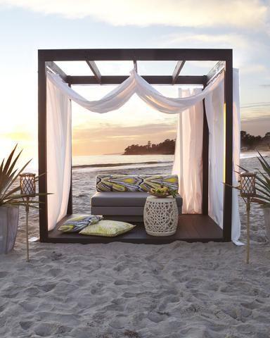 Outdoor Cabana Home Pinterest Backyards On The
